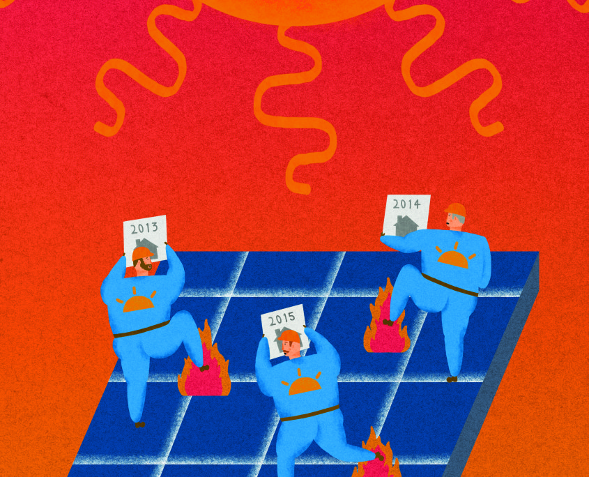 Solar flair or damp squib? Jack Xander