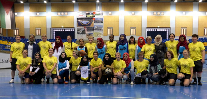 Hebron University team