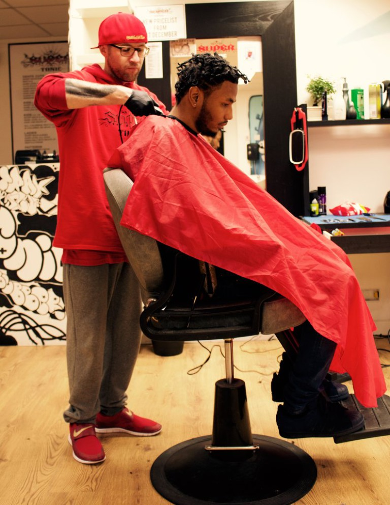 Super Tonic Barbershop, St Pauls