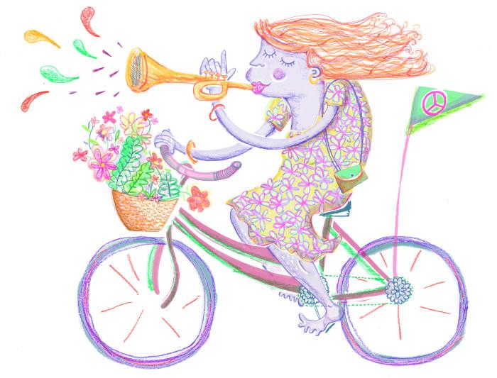 activist cyclist