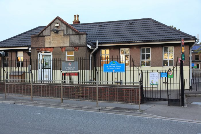 St Philip's Marsh Nursery School. Photo: Dean Ayotte