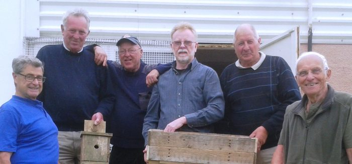 Men from the men and sheds group