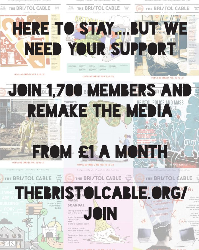 Here to stay, but we need your support, join the cable!