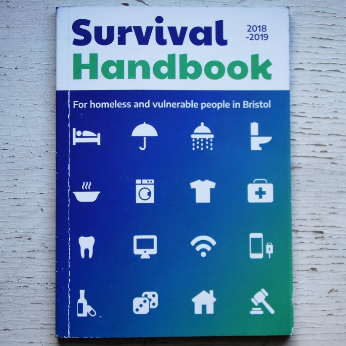 Caring in Bristol also produce the city's Survival Handbook