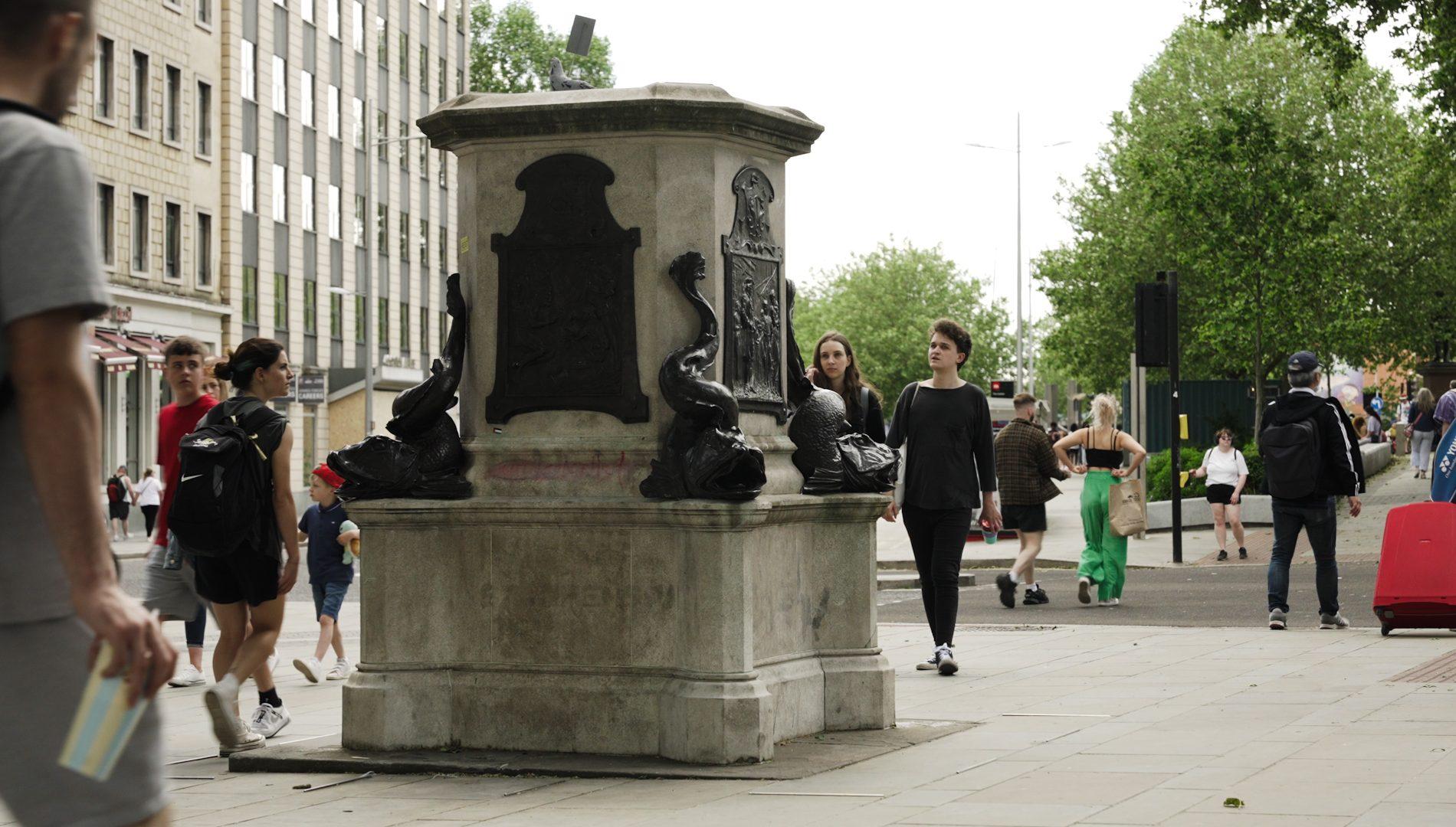 Colston's empty plinth